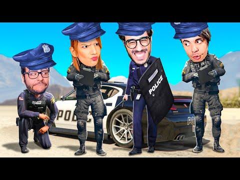 SONO DIVENTATO UN POLIZIOTTO CON I MIEI AMICI SU GTA 5!