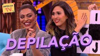 Tatá Werneck quer saber: Qual é a depilação da Juliana Paes? | Lady Night | Humor Multishow
