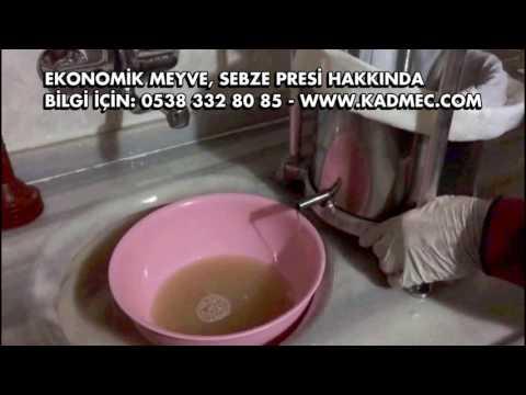 Soğan Suyu Sikma Yöntemi - En Ekonomik Pres