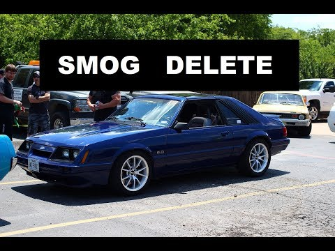 1986 Mustang GT Project - Smog Pump Delete