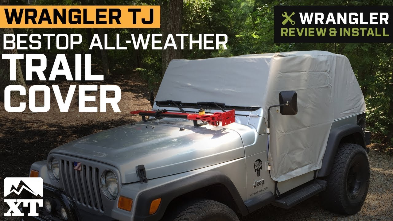 ca5d1282191 Jeep Wrangler TJ Bestop All-Weather Charcoal Trail Cover (1997-2006 ...