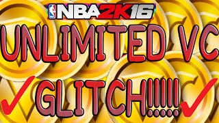 NBA 2K16 UNLIMITED VC GLITCH( BEST AFTER PATCH 6 ) EASY & FAST METHOD *JULY EDITION*
