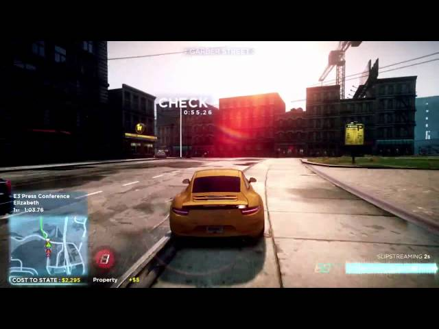 Need For Speed Most Wanted Presentation Gameplay - E3 2012