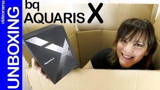 BQ Aquaris X unboxing y primeras impresiones
