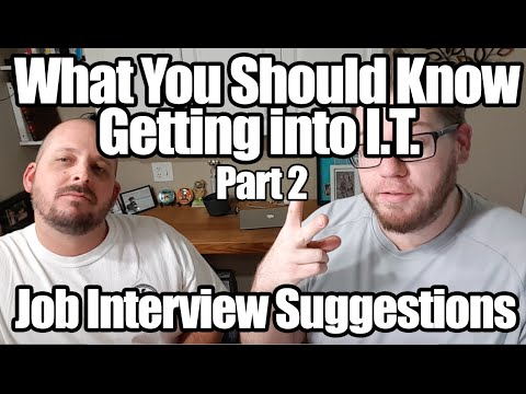 I.T. Interview Questions - Information Technology Job Help