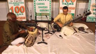 Music therapy with Sitar at ABH Durban on SABC 3 Sadhana
