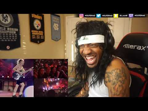 "METALHEAD SHAQ REACTS TO AC/DC ""Hells Bells"" (Live at River Plate)"