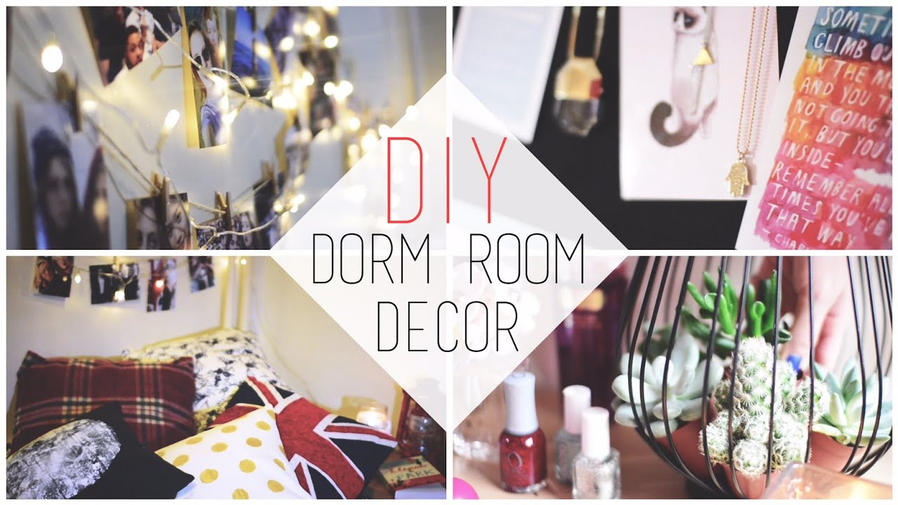 Nice Transform Your Dorm | DIY Decorations + Organization Tips   Chanelegance    YouTube Part 8