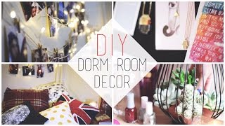 Transform Your Dorm | DIY Decorations + Organization Tips Thumbnail