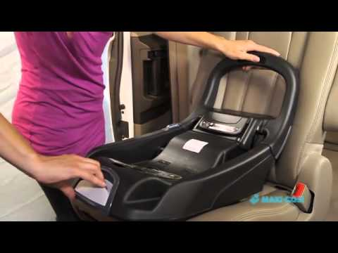 Maxi Cosi Prezi How To Install Using Your Base And Seat Belts