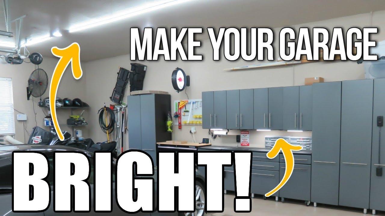 Undercabinet Super Bright Led Light Bars Garage Kitchen Attic Work Brighter Lighting