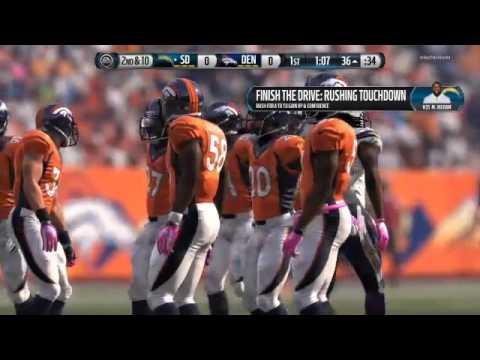 SMB League Season 2 Match 7 - Madden 16 - Chargers @ Broncos