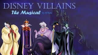 Repeat youtube video Disney Villains: The Musical (fan made music video) AVbyte