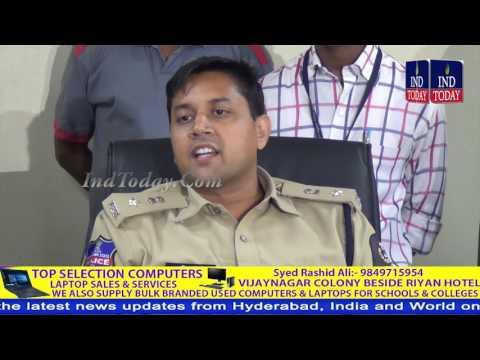 Hyderabad Cyber Crime Police Unearth Online Fraud, Arrests Nigerians