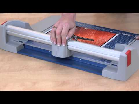 Dahle Rolling Paper Trimmers & Cutters - Demo Video - DigitalBuyer.com