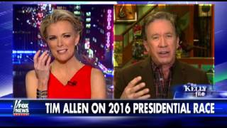 Tim Allen on Megyn Kelly Weighs In on the 2016 Race, Reveals Which GOP Candidate He Likes