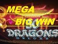 ★BIG Surprising ! ★☆50 Dragons Deluxe Slot machine BONUS SUPER BIG WIN☆$1.50 Bet