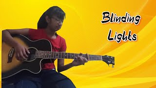 Blinding Lights by The Weekend (guitar cover by Abigail Chetty