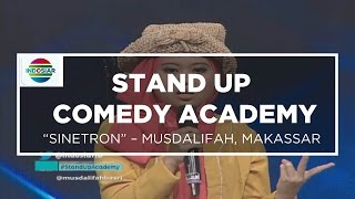 """Nonton Sinetron di Bioskop"" - Musdalifah (Stand Up Comedy Academy 10 Besar Group 1)"