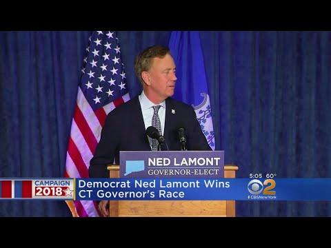 Democrat Ned Lamont Wins Conn. Governor's Race