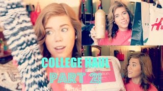 Dorm Room Haul: Part 2! | Clothes & Essentials | Makeupkatie95 Thumbnail