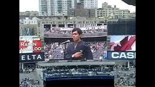 ramin karimloo sings canada us national anthem yankee stadium 5 18 13