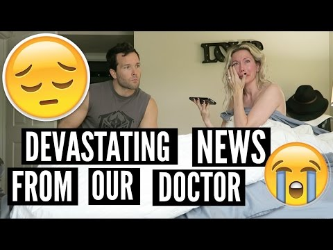 DEVASTATING NEWS FROM OUR DOCTOR