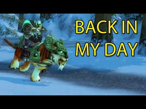 Back In My Day... By Wowcrendor (WoW Machinima) | WoWcrendor