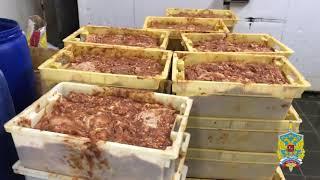 Полицейские проверили деятельность цеха по производству заготовок ближневосточного блюда