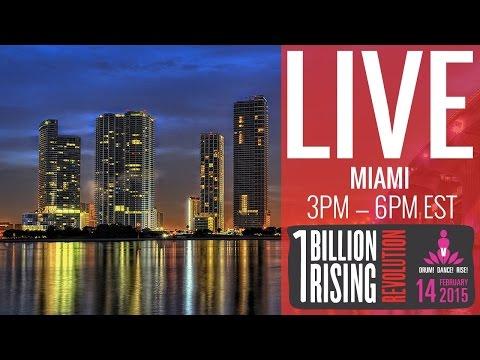 One Billion Rising Miami Revolution 2015