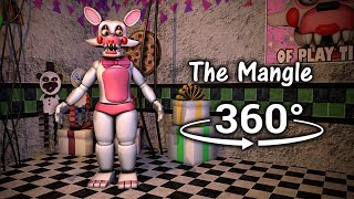360°| The Mangle Test Show - Five Nights at Freddy's 2 [FNAF/SFM] (VR Compatible)