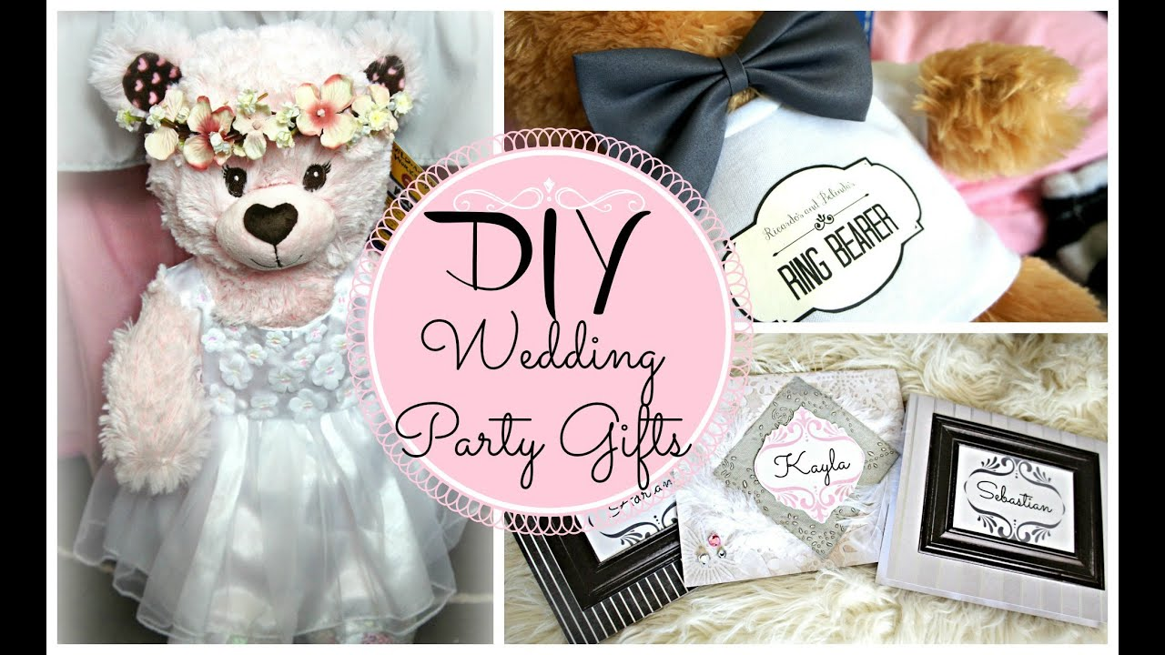 DIY Gifts for Flower Girl and Ring Bearer Belindas Wedding Series ...