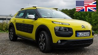2014 Citroen C4 Cactus Start Up, Exhaust, Test Drive, and In Depth Review english