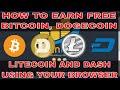 Melhores faucets 2020 Litecoin, bitcoin, xrp e dogecoin de graça(MUITORÁPIDO)