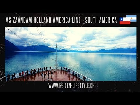 MS Zaandam, Holland America Line, exciting journey around the Kap Horn and Southamerica