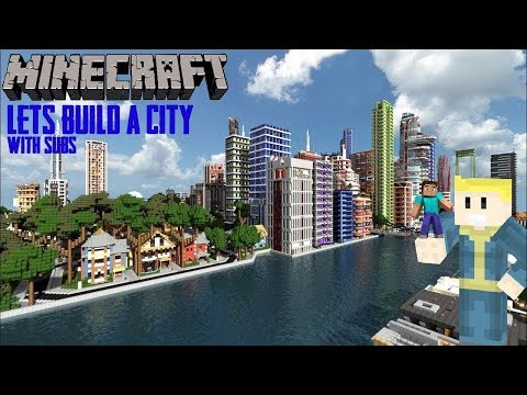 Minecraft Lets Build A City! & Faction Realm!