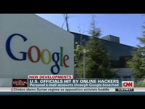 CNN: U.S. officials, Google hacked