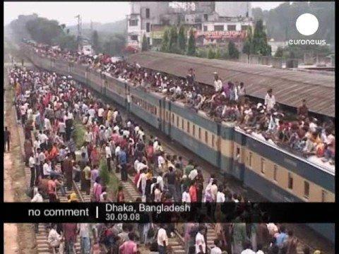 Eid ul-Fitr celebration in Bangladesh.
