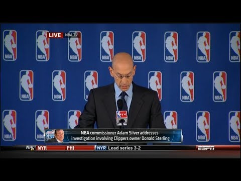 NBA Commissioner Adam Silver's Ruling on Donald Sterling