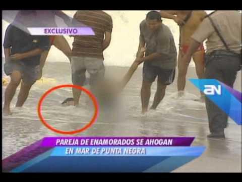 Pareja de enamorados se ahoga en mar de Punta Negra