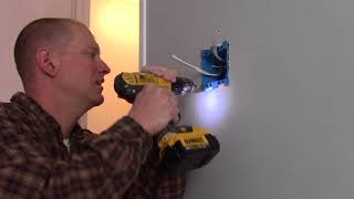 How To Replace Mobile Home Self Contained Wall Switch or Outlet