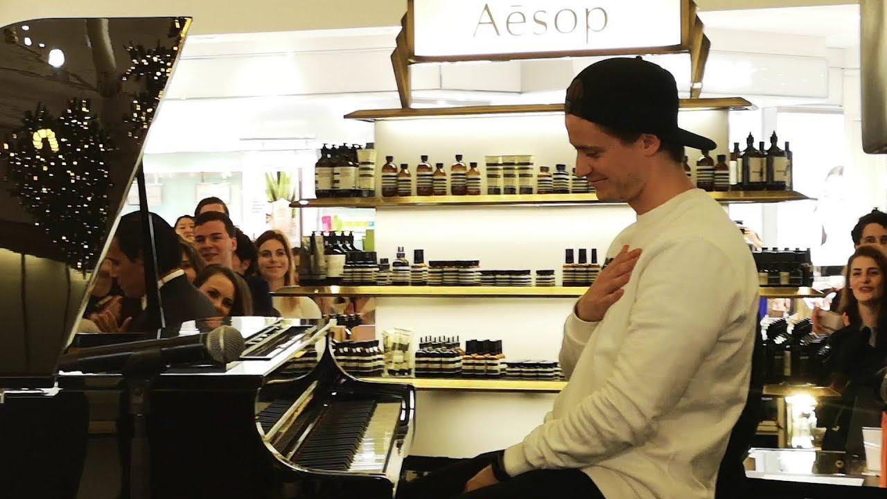 Kygo  Piano Live Session Paris  Le Bon March 15112018