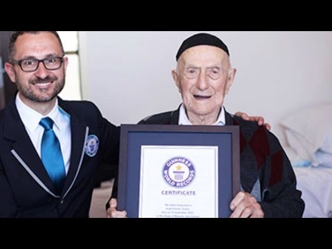 World's Oldest Man Will Have Bar Mitzvah At 113-Years-Old