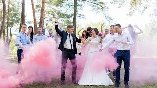 Зажигательная свадьба Антона и Натальи. Гомель 2015