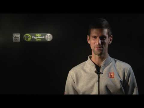 Djokovic Previews Stepanek QF Match In Doha