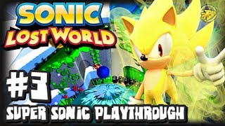 Sonic Lost World Wii U - (2K HD) Super Sonic Playthrough - Part 3 w/UltraNick24