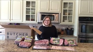 Butcher Box Unboxing and Review | Beef and Pork Box March 2019 | Is it worth it?