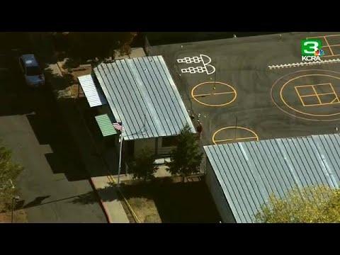 Evitan una matanza en un colegio de California