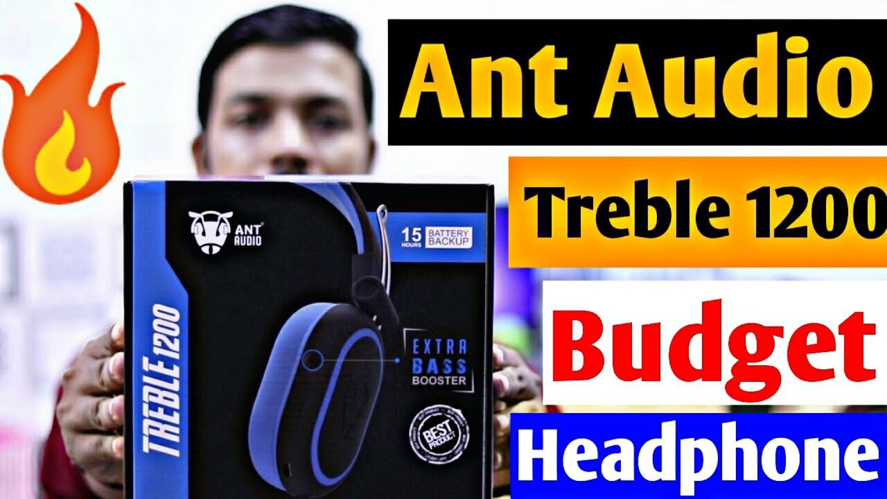 Ant Audio Treble 1200 Bluetooth Headphone Full Detail Review Best Pubg Headphone Youtube