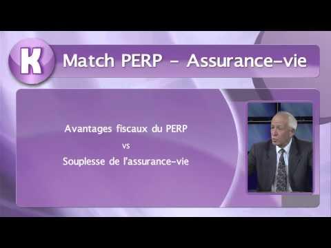 PERP ou assurance vie ?